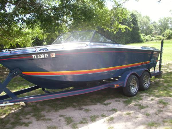 REDUCED1986 Supra Sunsetter V Drive Ski Boat - $7200 (Flynn Texas)