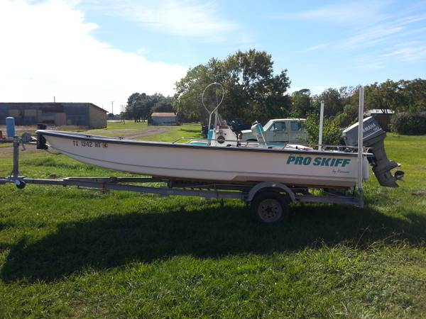 KENNER PRO SKIFF 19 FOOT 90 HP YAMAHA - $3500 (needville)