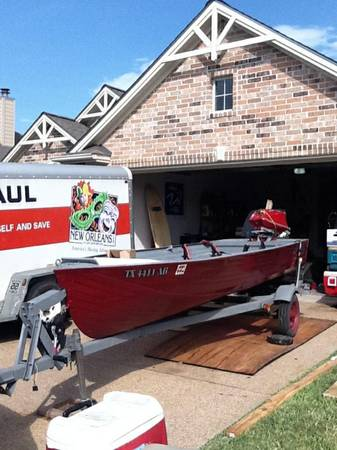 14 V hull Jon Boat - $1000 (Beltway and 290)