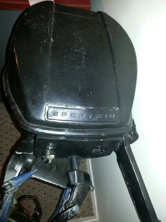 Evinrude sportwin outboard for sale for Outboard motors for sale houston