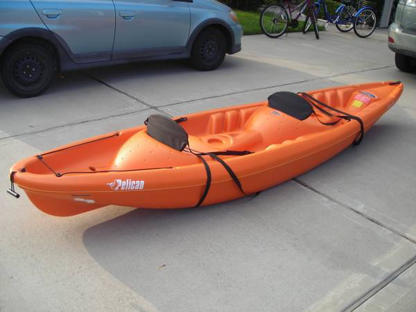 Pelican Apex 130T 13 2-Person Kayak - $350 (Friendswood)