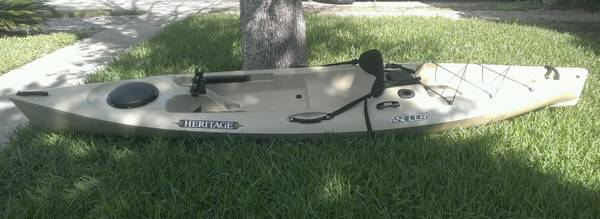 12 Heritage Angler Fishing Kayak - $450 (Houston)
