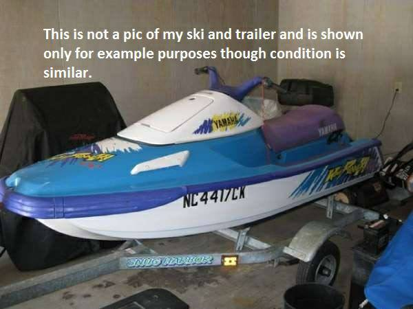 1995 Yamaha Waverunner III - $650 (El Co)