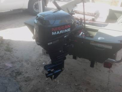 15 foot fishing boat brand new - $5300 (east houston crosby)