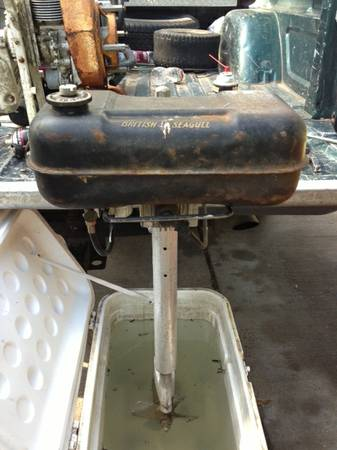 British Seagull antique trolling motor - $500 (West Columbia)