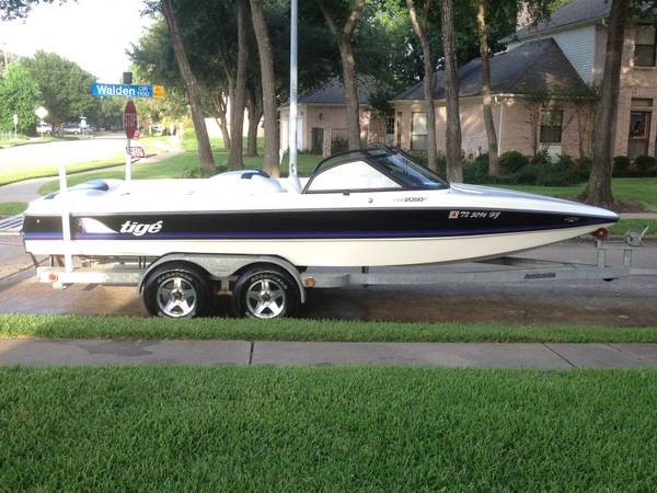 1998 Tige 2050 WakeboardSki Boat - $11900 (Sugar Land)