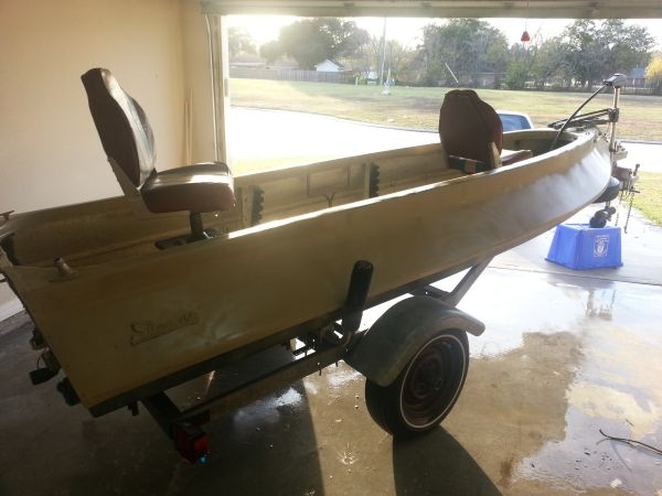 1968 Super Skeeter Bass Boat Collectible - $1000 (Baytown, TX)