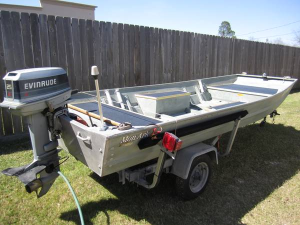 Monark 14 Aluminum Boat - $3750 (SW Houston between 59S and Beltway 8)