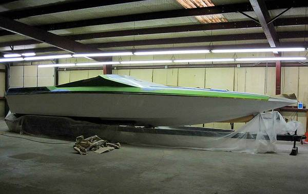 35 Webbcraft Project Boat Triple Axle Trailer - $17500 (The Woodlands)