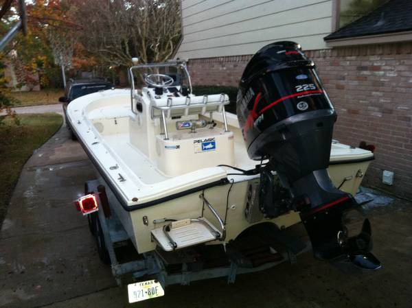 23 ft bay boat center console parker  15500  spring