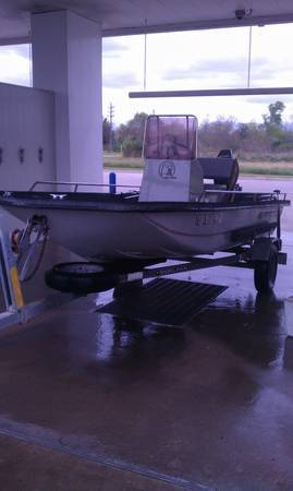 1989 15 ft bayhawk center consle 50 hp yamaha excelent condition - $3400 (Katy)