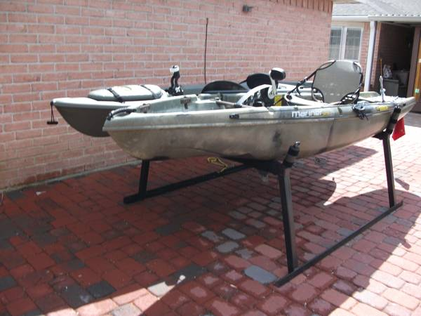 Native and Pelican Kayak with truck Mount - $2200 (Northwest Houston)