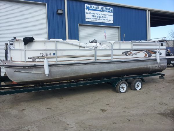 1998 25 ft Landau Pontton Deck Project  - $1500 (lake conroe )