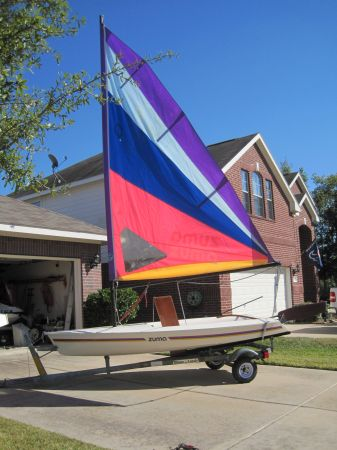 ZUMA SAILBOAT - $1350 (NORTH HOUSTON)