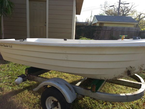 9.4 water tender boat - $550 (Houston)