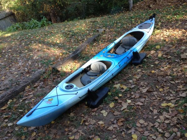 Old Town Dirigo Tandem Plus kayak for sale - $550 (Lake Conroe)