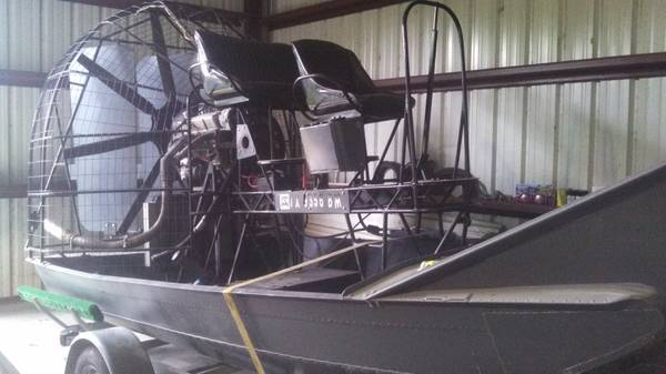 Airboat - $13000 (Alvin)