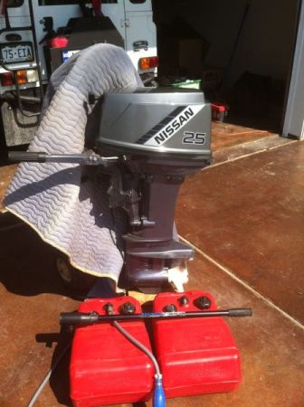 25 hp nissan outboard for sale for Outboard motors for sale houston