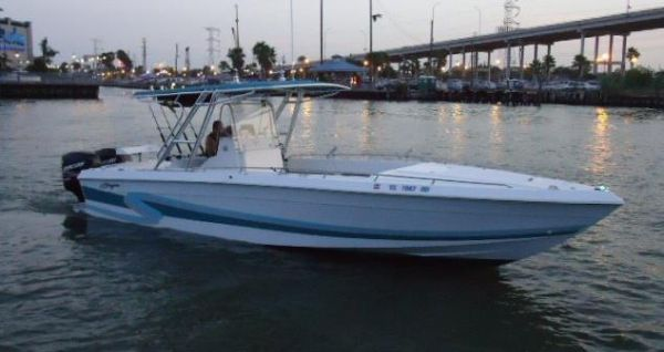 28 Ft Baja center console with twin 225 mercury optimax - $13500 (SeabrookKemah)
