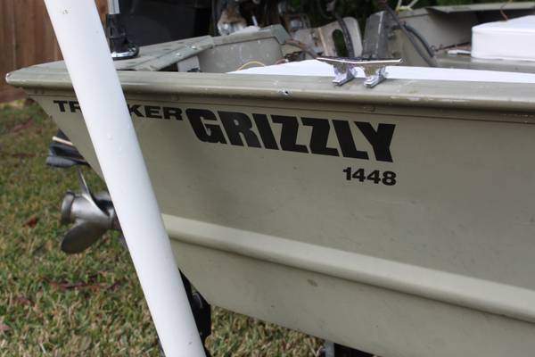 14ft Grizzly 1448 Jon Boat - $2000 (conroe)