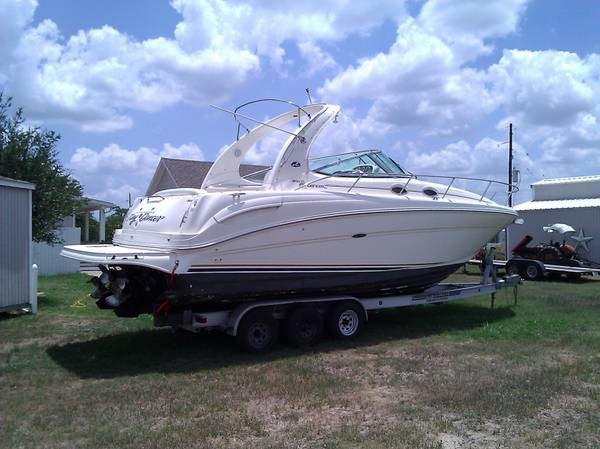 2002 Sea Ray 300 Sundancer Low Hours - $55500 (Sealy Tx)