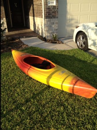 Old Town Otter Kayak Sunburst - $165 (North Houston)