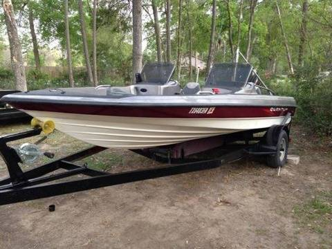 1996 18FT Quantum Bass Boat (Spring)