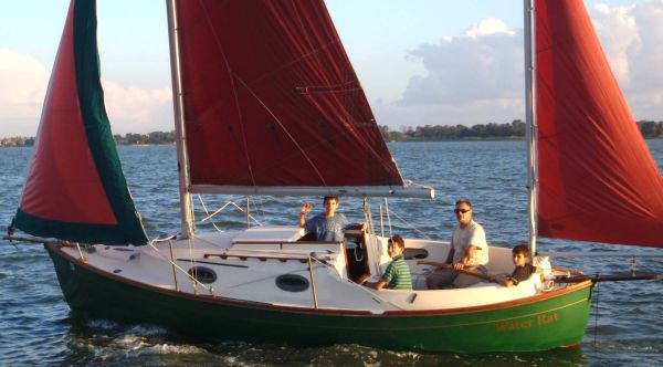 Sailboat Beautiful, Traditional 23 Rob Roy Yawl wmotor trailer - $9980 (Clear Lake)