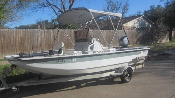 89 predator bay tunnel hull wide boat 2001 yamaha  - $3900 (houston)