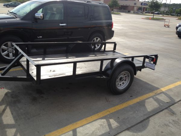 2012 SOLID trailer for Kayaks or other BIG project. - $750 (North West Houston)