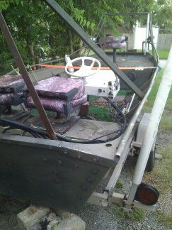 16 Foot Jon Boat for Gigging wTrailer - $2300 (SE Houston)