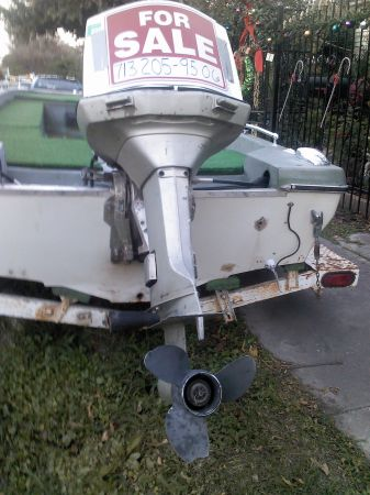 85 HP Johnson outboard motor for sale - $1400 (77012)