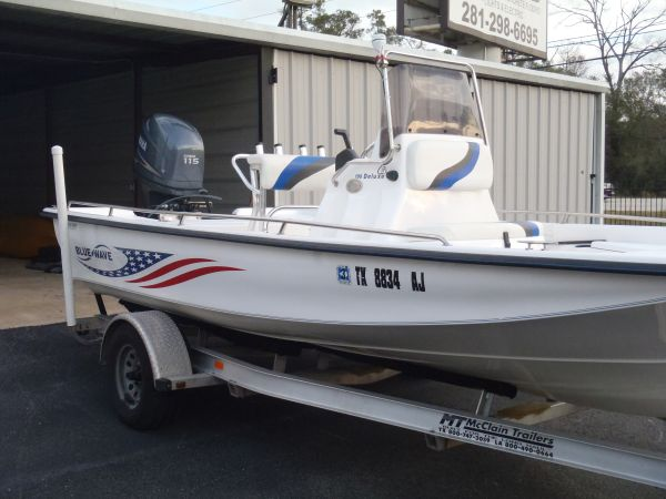 2007 Blue Wave 190 Deluxe Center Console Bay Boat - $17000 (The Woodlands)