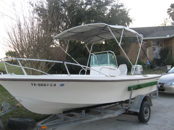 Mako 17 Angler with Suzuki DT140 - $3500 (Clear Lake)