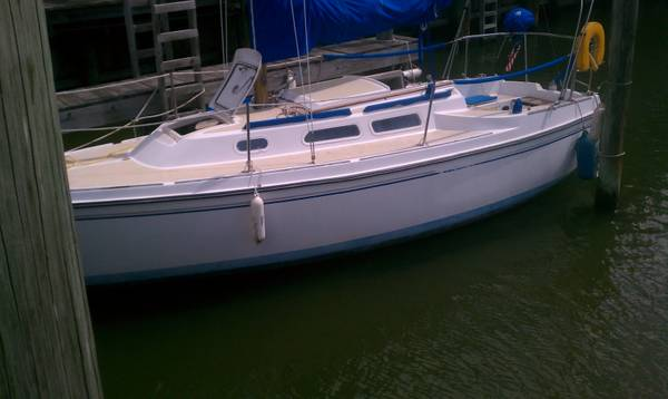 1976 oday 25 sailboat - $6500 (clear lake )