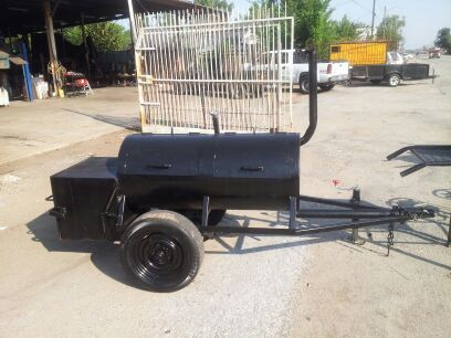 trading bbq pit for a small fishing boat - $1 (houston )
