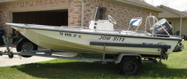 Reduced - 18 Blue Wave Boat with 115 Yamaha Motor - $6950 (Needville, TX)