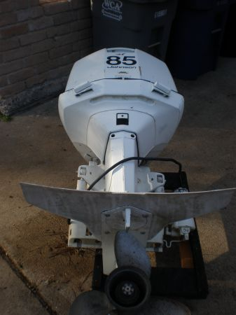 1976 JOHNSON OUTBOARD MOTOR JAVELIN 85 HP - $300 (HOUSTON 77084)