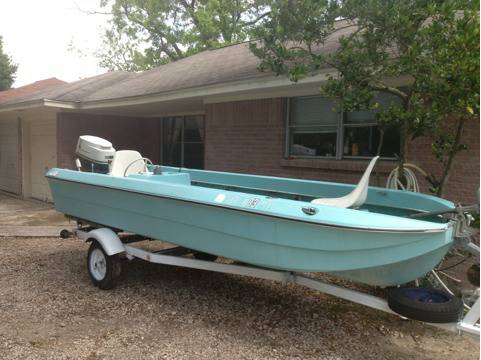 All Original 16 ft power cat Fishing boat one Owner - $1900 (Nw Houston )