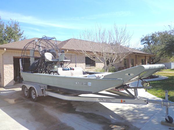 2009 20x8 AIRBOAT - $32000 (Rockport,TX)