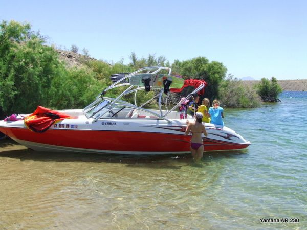Beautiful 2005 Yamaha AR 230 Wakeboard Boat - $21500