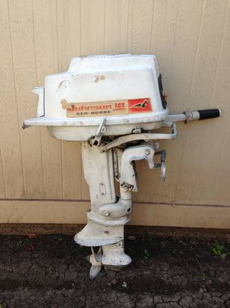 18 hp johnson outboard for sale for Outboard motors for sale houston