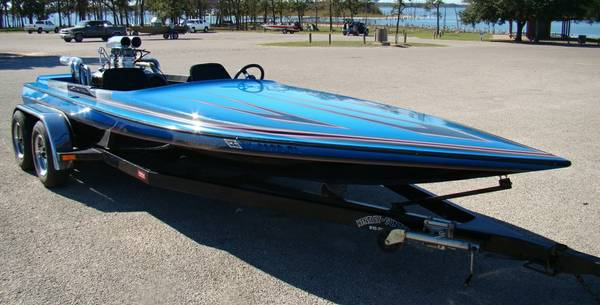 1991 Carrera Eclispe Jet Boat - 496 BBC (NW Houston)