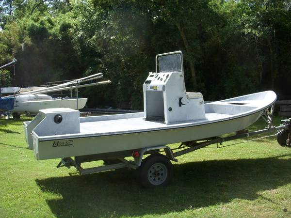 1993 Mowdy 18 Tunnel Hull Shallow Water - $2600 (Dickinson)