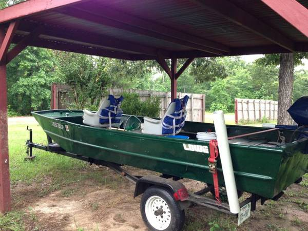 16 FT LOWE Flat Bottom Boat - $2500 (Cleveland, TX)