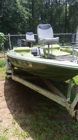1979 FISH AND SKI BOAT 140 MERCURY  -   x0024 2000  Splendora