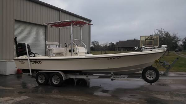 2002 Parker 23  Big Bay 2005 Yamaha 300 -   x0024 33000  Houston