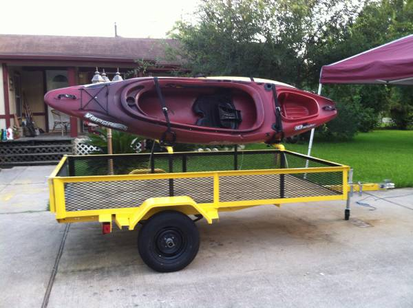 Kayaks  amp  Trailer -   x0024 2000  humble tx