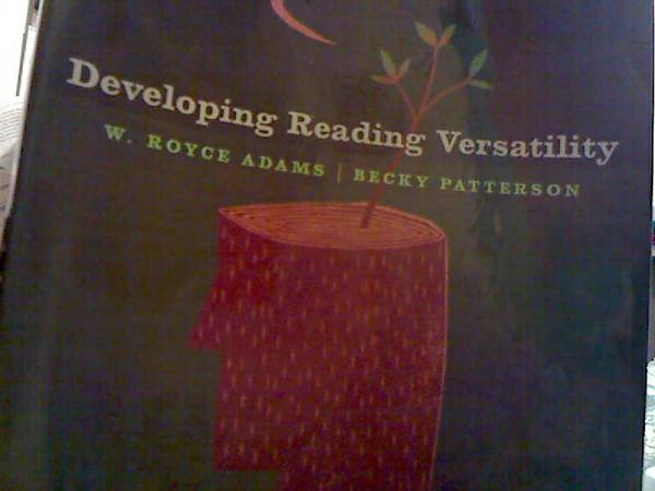 USED BOOK FOR SALE Developing Reading Versatility, 10th edition (Spring Branch, Houston, Texas)