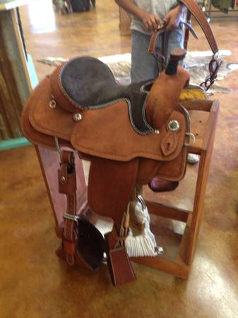Double J Saddle for sale-Brand New - $1900 (Bellville)